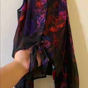 bebe Tops - Bebe cold shoulder blouse